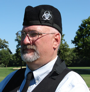 image of Tad Myers, TC Metro Pipe Band Pipe Major